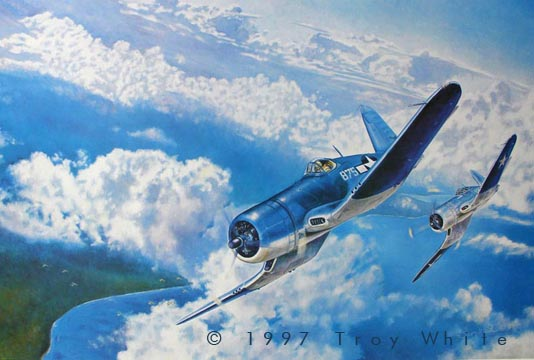 John F. Bolt VMF-214 Black Sheep USMC - Two War Ace